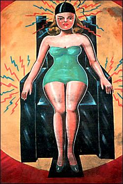 1,000 volt woman